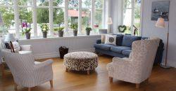 Nybyggd sekelskiftesvilla på exklusiva Munkholmen i Sigtuna