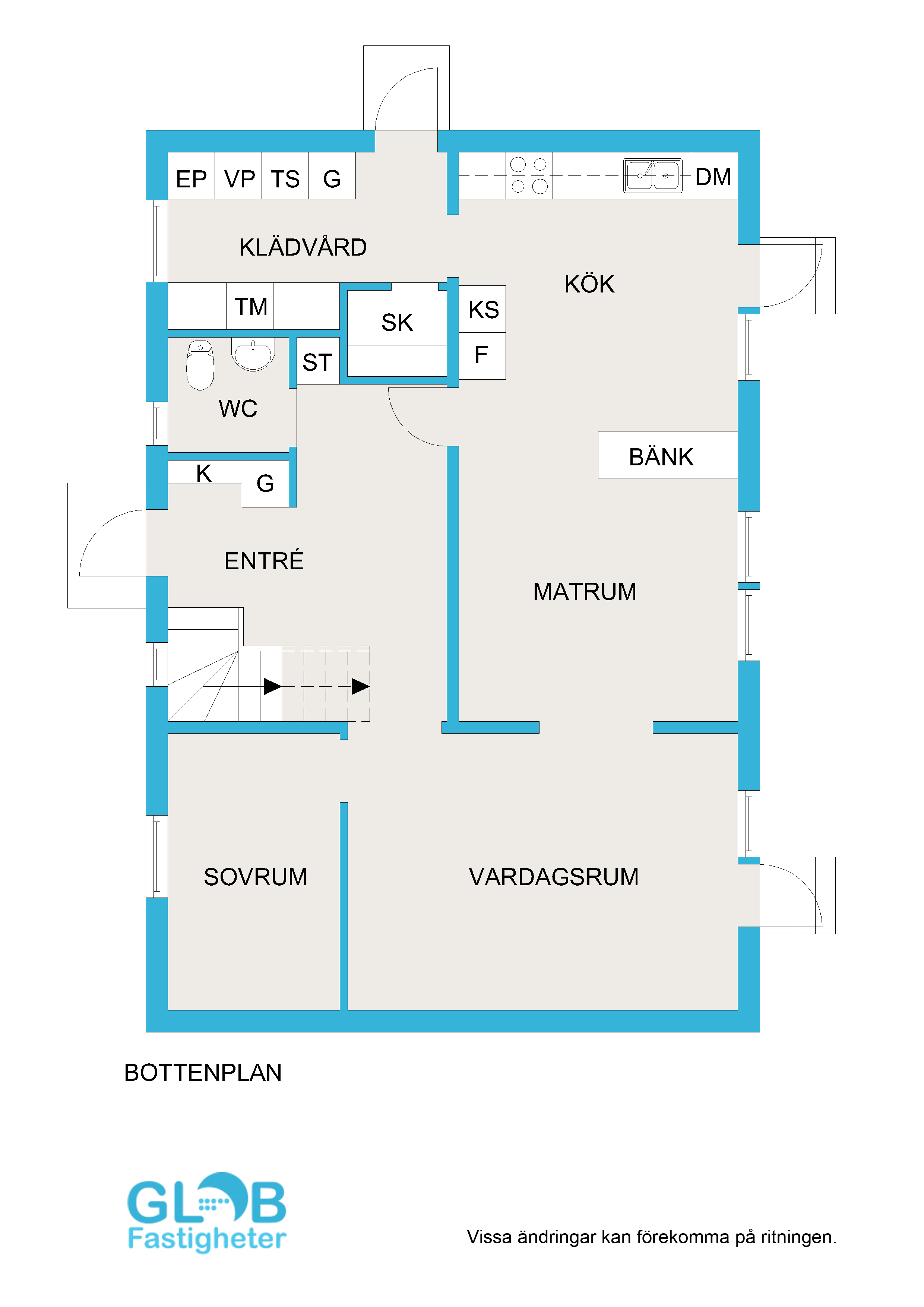 Lidingö villa i modern stil