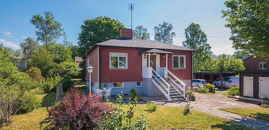 Charmigt hus i Huddinge – Segeltorp
