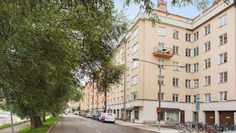 Delvis möblerad 3:a på Kungsholms Strand