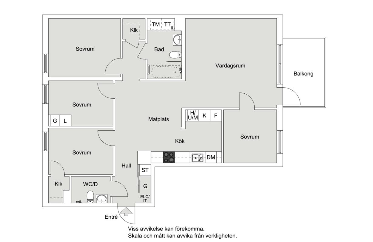 Stor 5:a på Solsidan vid Sjövikskajen – Liljeholmen