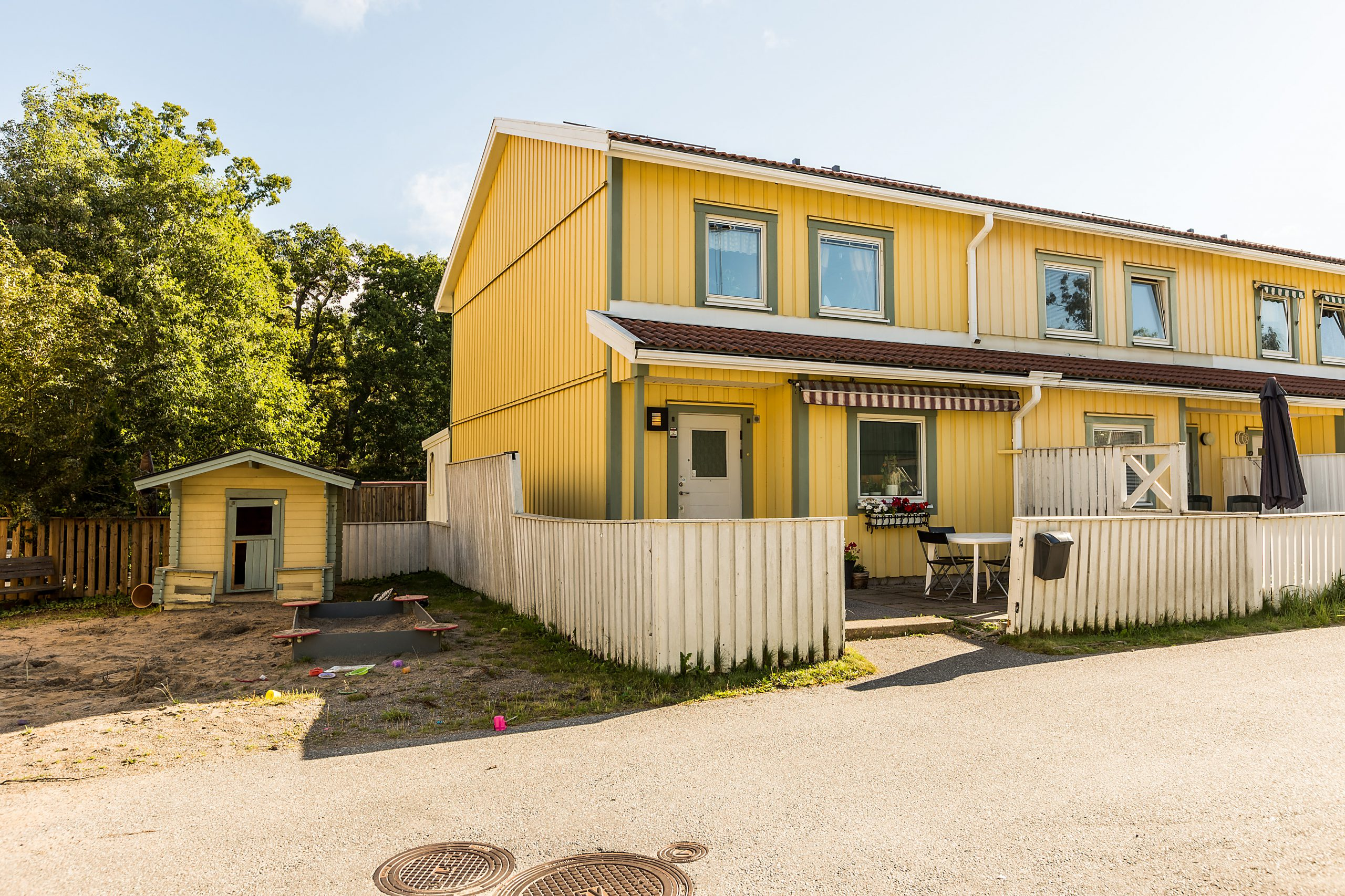 Fantastiskt radhus i Trångsund