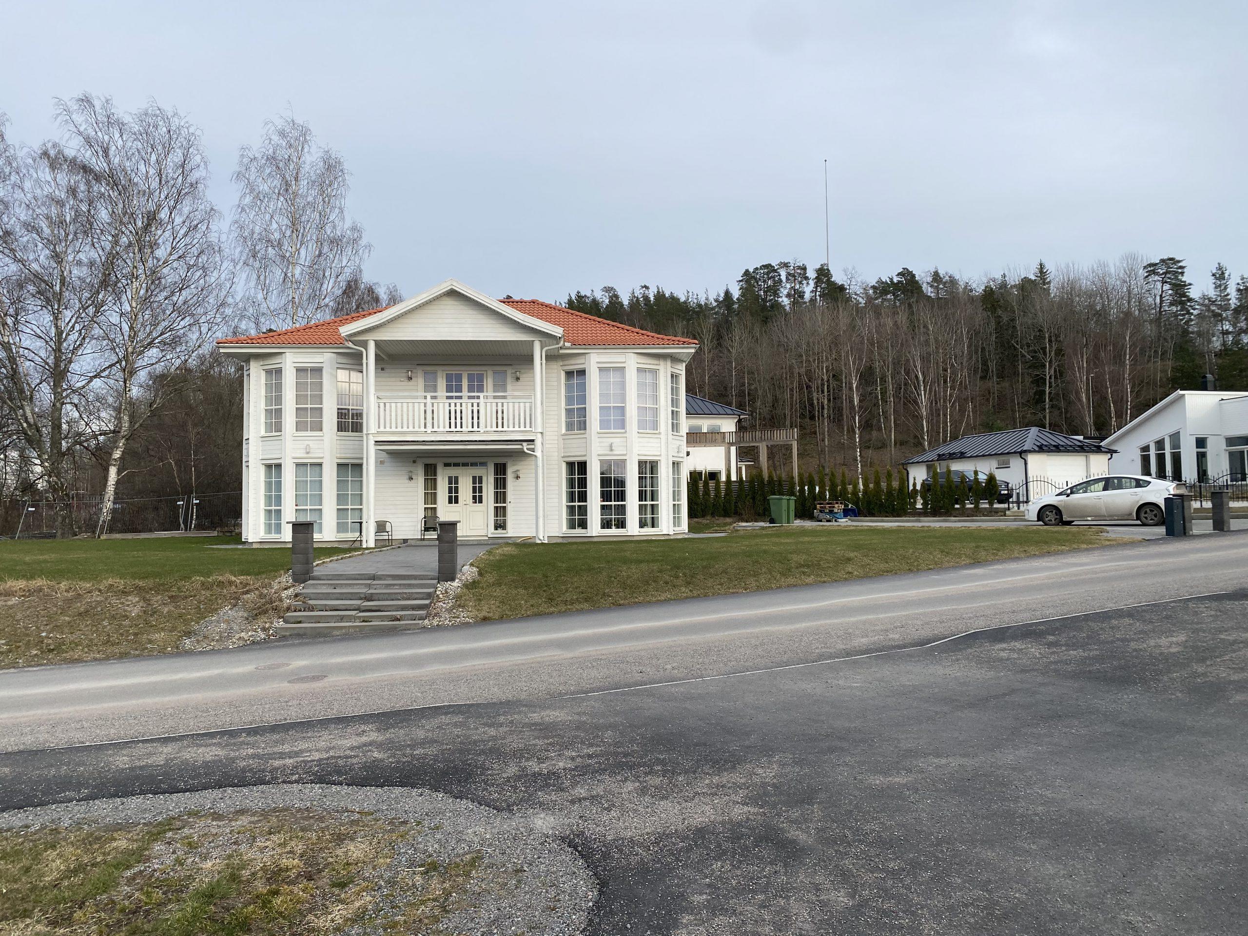 Modern familje villa