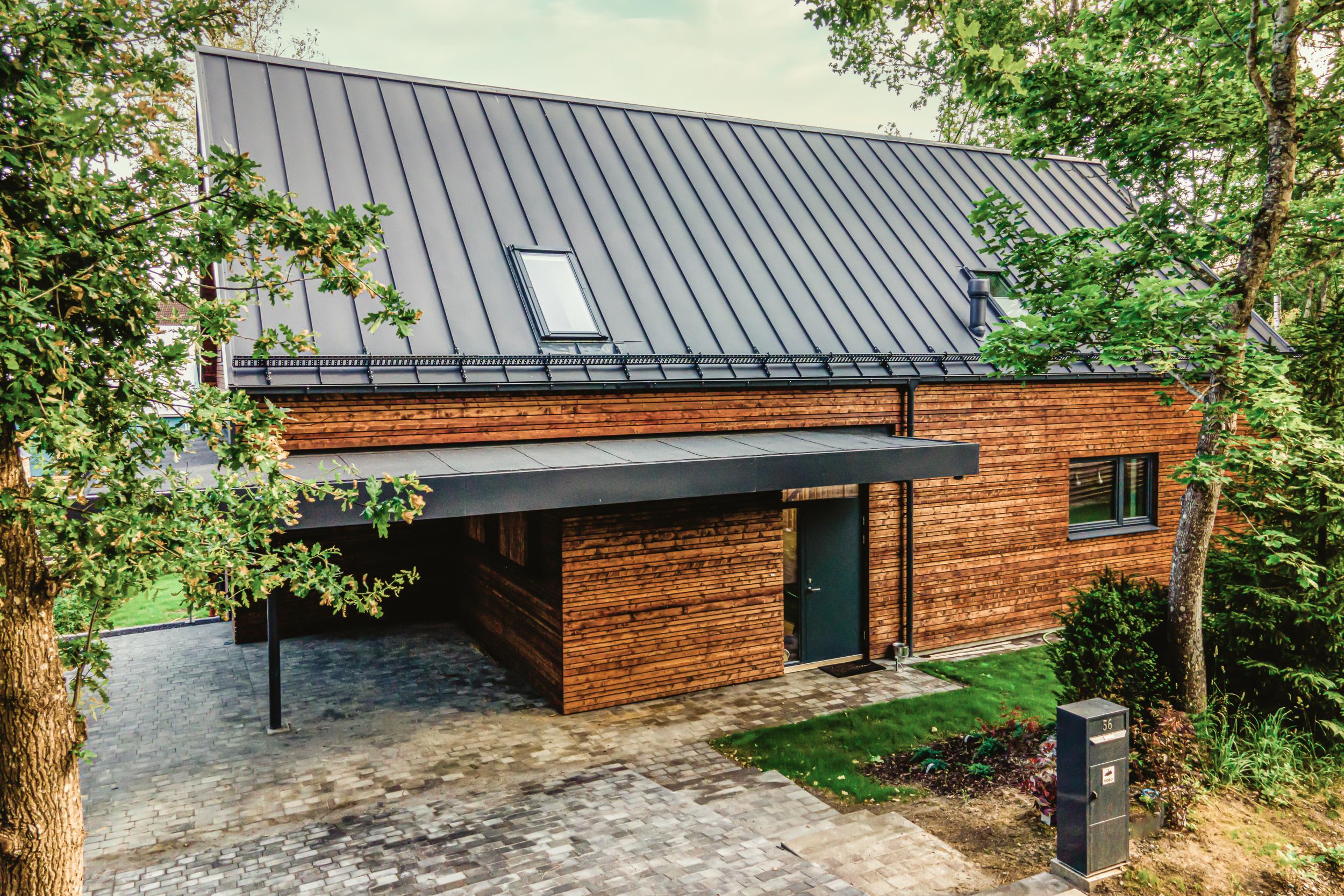 Modern och nybyggd familje villa