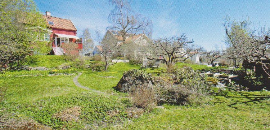 Hus i eftertraktade Norra Ängby