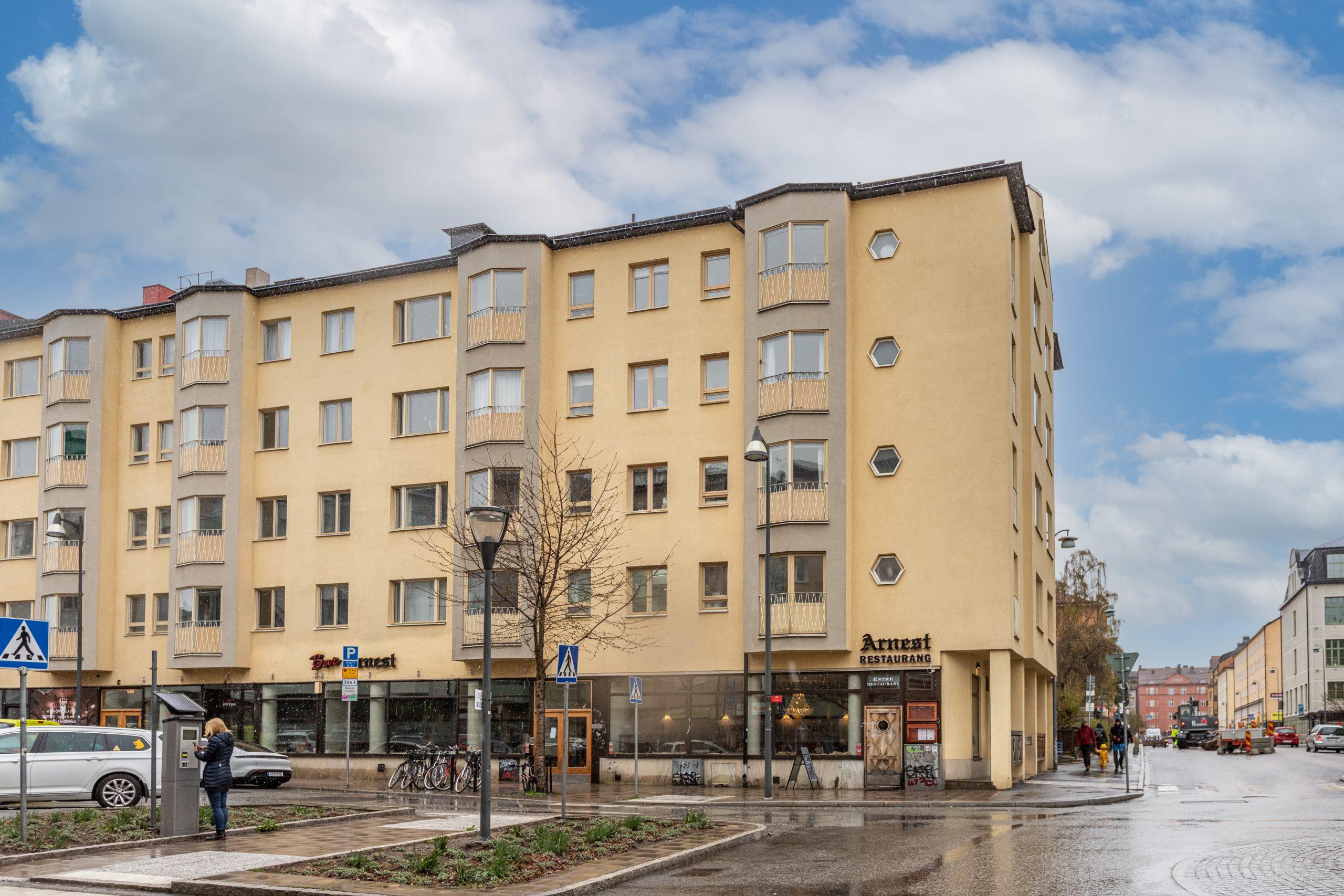 Fantastisk 2:a i populära Sundbyberg