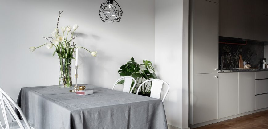Trendig lägenhet i populära Sundbyberg – 1,5 med stor takterass